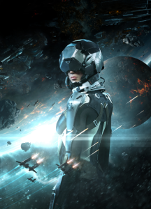 © CCP Games – Eve: Valkyrie Katee Sackhoff voices Rán Kavik, leader of a Renegade splinter group