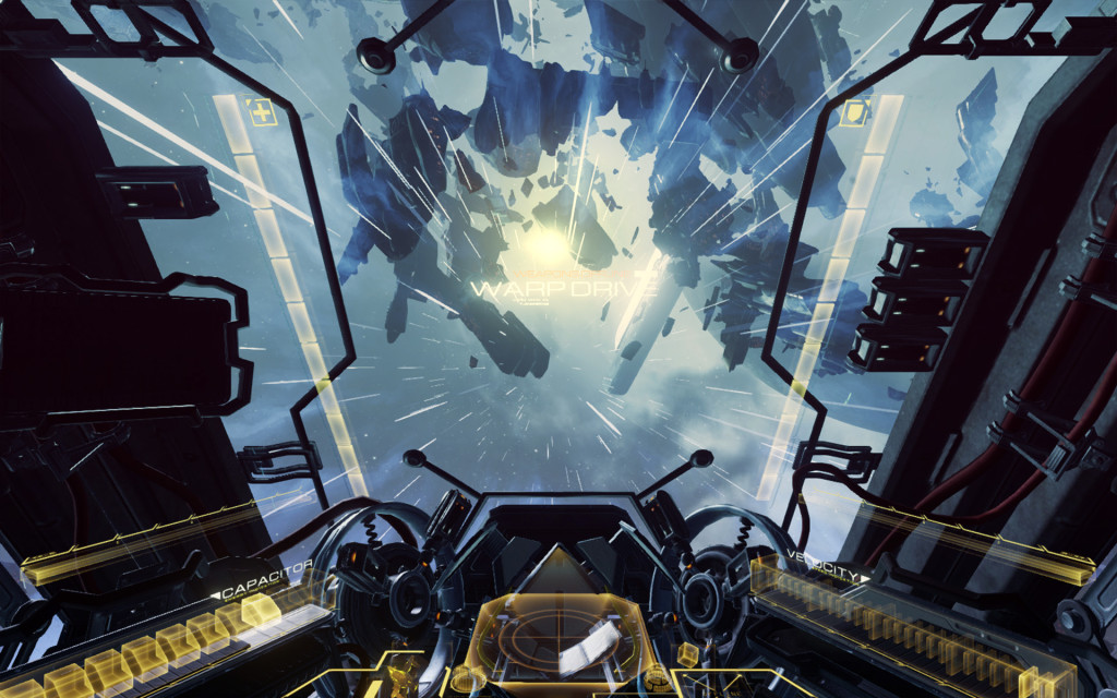 Oculus RIft Screengrab of Eve: Valkyrie © CCP Games – Eve: Valkyrie