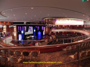 Hall Duesseldorf - main panel area and autograph room