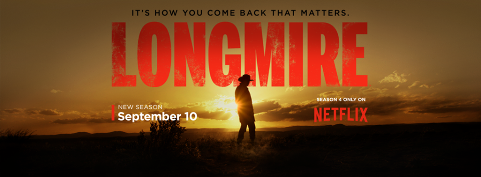 © Longmire/Netflix - from the official facebook page