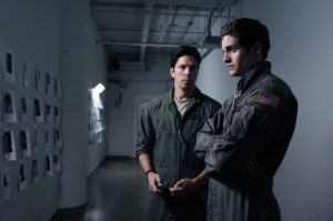 """Daniel Sharman and Michael Trucco in """"Drone"""" © Used with Permission"""